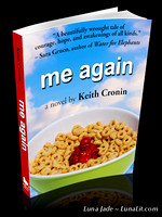 Me Again by Keith Cronin (3-D Book Graphic - black)