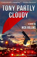 TONY PARTLY CLOUDY book cover design & photography